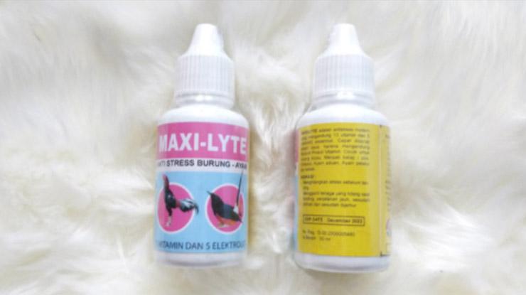 Obat Burung Loverbird Sakit Maxi Lite