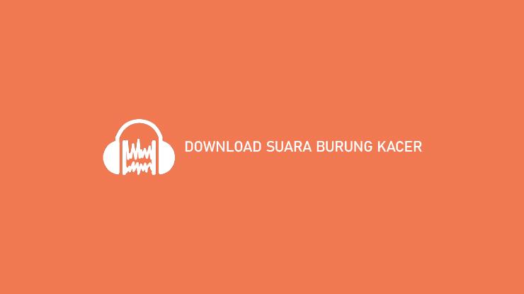 DOWNLOAD SUARA BURUNG KACER