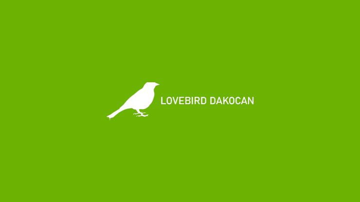LOVEBIRD DAKOCAN 1