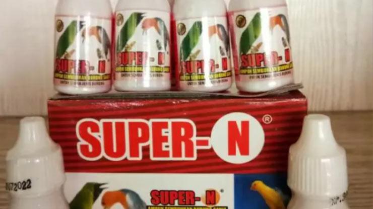 Harga Obat Burung Super N