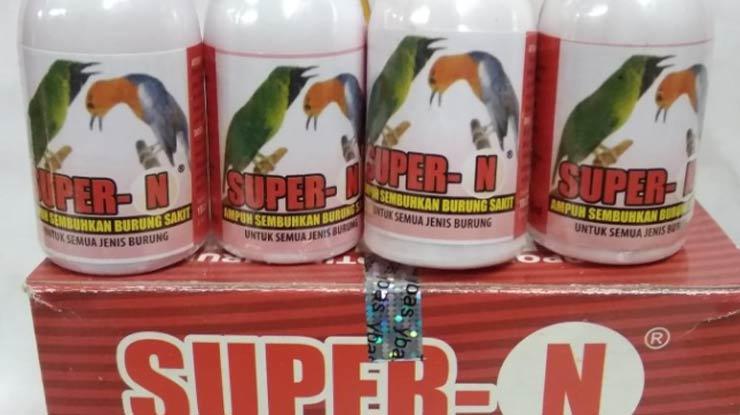 Manfaat Pemberian Obat Burung Super N