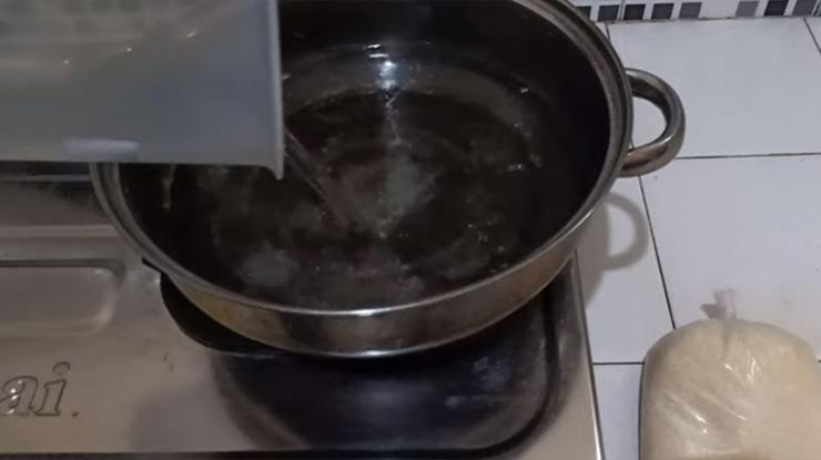 Masak Air Putih Untuk Rujak Nektar