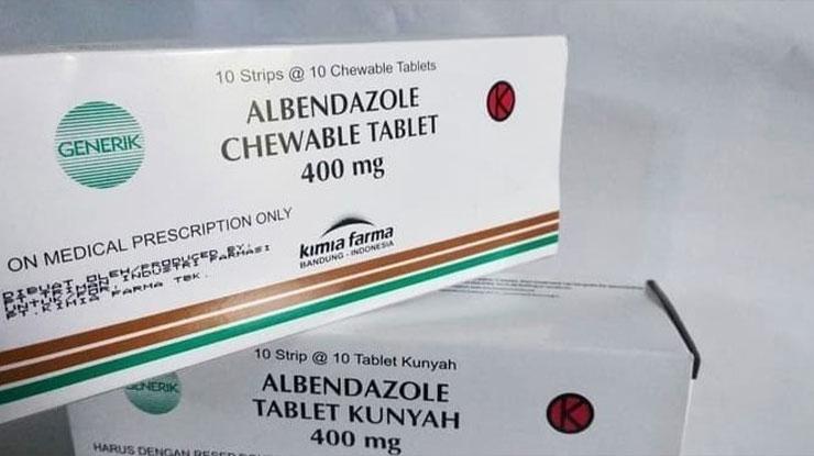 Obat Cacing Albendozole