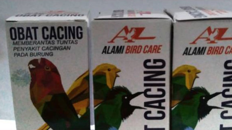 Obat Cacing Bird Care