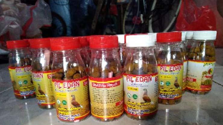 Obat Pil Edan Khusus Burung Dara